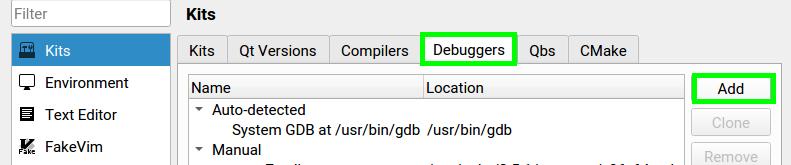 Configure new Kit in QTCreator based on Yocto meta-toolchain-qt5