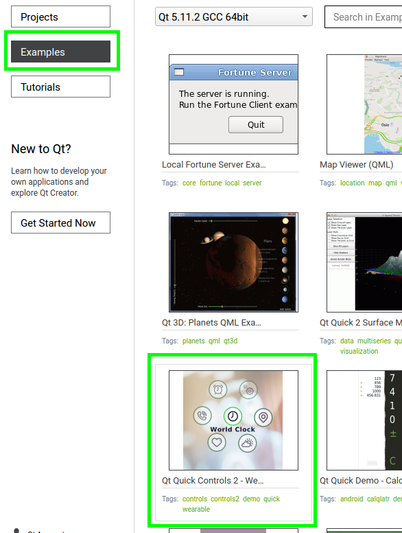 Example Qt5 GUI Application using Yocto meta-toolchain-qt5 kit